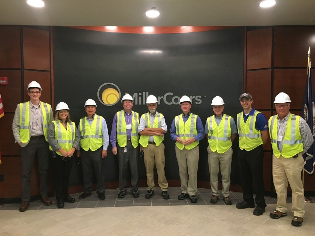 Deane and other consultants enjoyed a very interesting tour of the regional Miller Coors Brewery, where approximately 850 cans are filled in a minute!