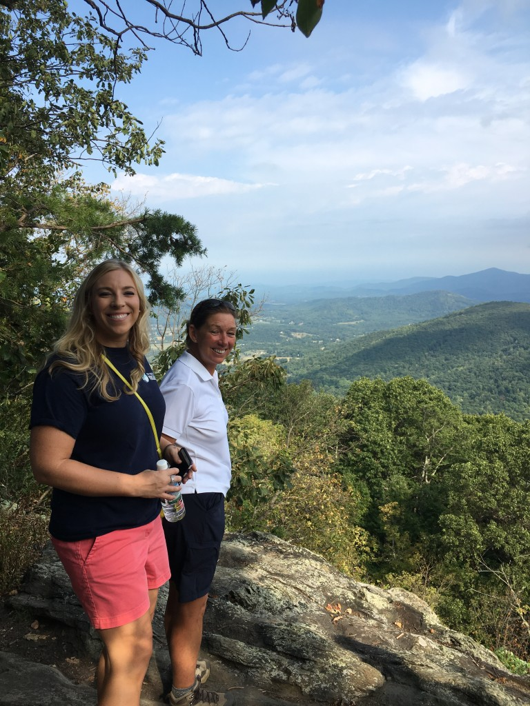 Deane and friends enjoyed a scenic hike in the amazing Appalachian Mountains, while attending the Shenandoah Valley Partnership's FAM Tour.